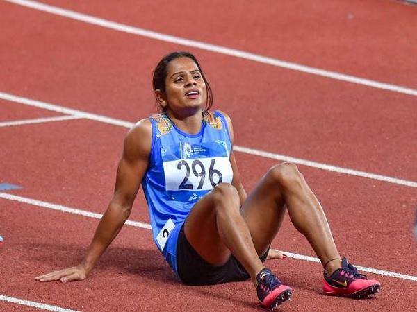 भारत की स्टार धावक हैं दुती चंद-