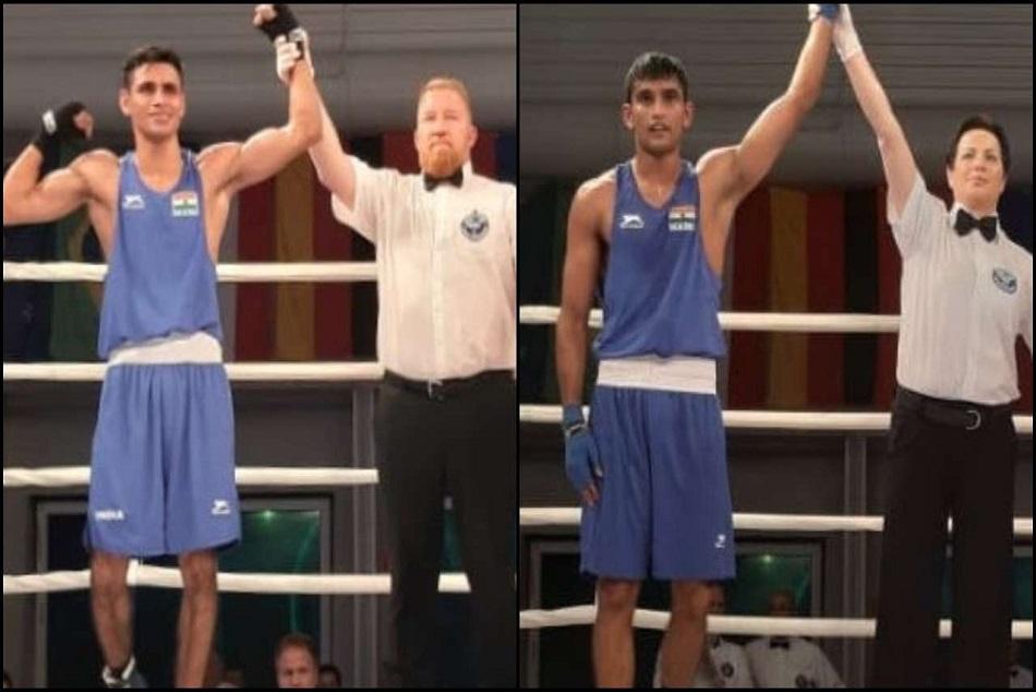 Gaurav Solanki Manish Kaushik Win Gold In Stamm International Boxing Tournament