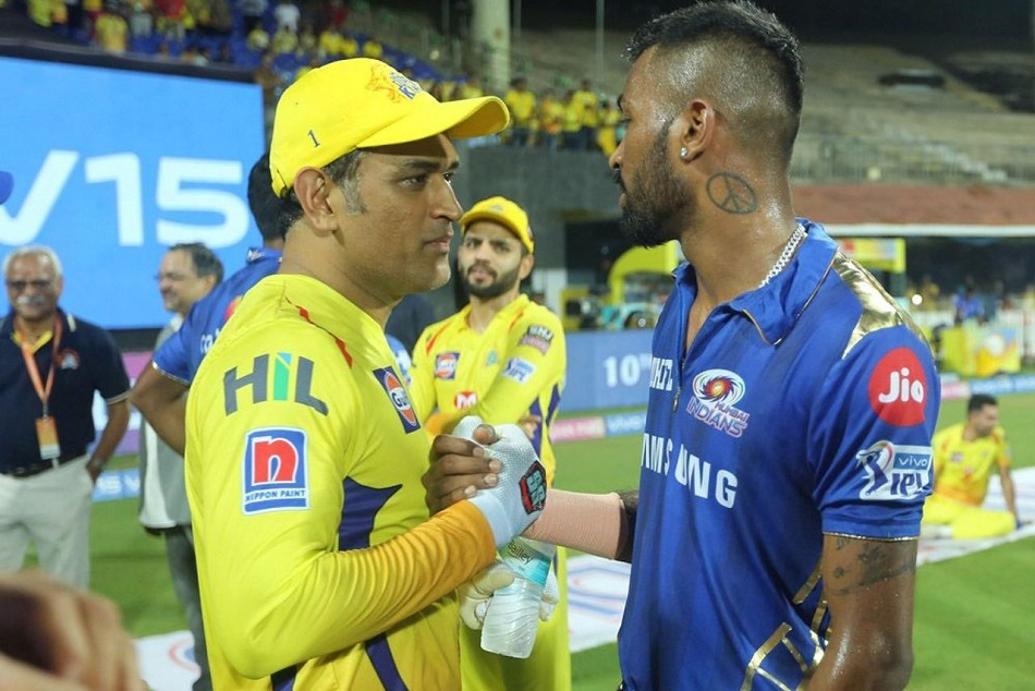 Ipl 2019 Hardik Pandya And Ms Dhoni S Adorable Picture Overwhelmed The Fans