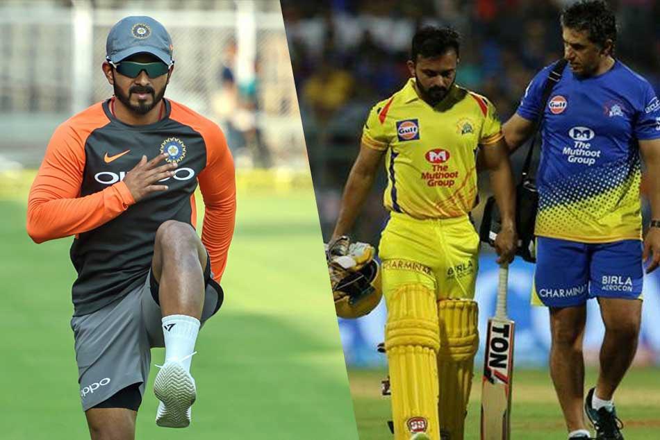 Icc Cricket World Cup 2019 Axar Patel And Ambati Rayudu May Replace Kedar Jadhav Media Report