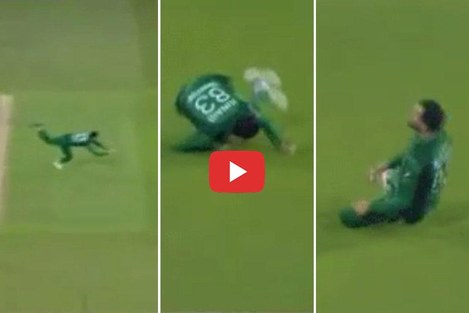 Junaid Khan Pulls Off A Stunner Of His Own Bowling To Send Joe Denly Packing