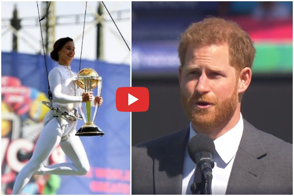 ICC World Cup 2019: Prince Harry officially open the mega event in Oval, Watch