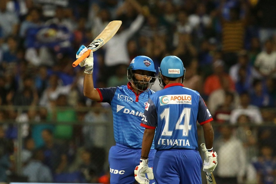 Ipl 2019 Rishabh Pant Said Hitting Six Is In Our Muscle Memory And They Practice For That