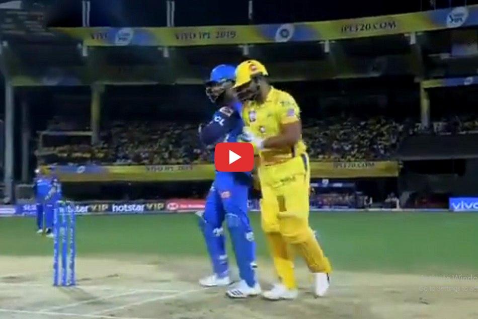 Rishabh Pant And Suresh Raina Fight Video Ipl 2019 50th Match