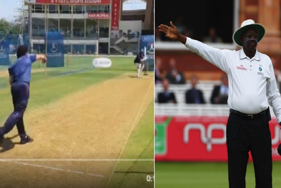 ICC tweets hilariously at Sachin Tendulkar for bowling a no-ball, Watch Video