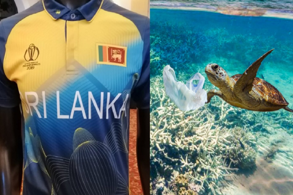 World Cup 2019: Sri Lankas team unveil their Eco-friendly jersey with heart winning gesture