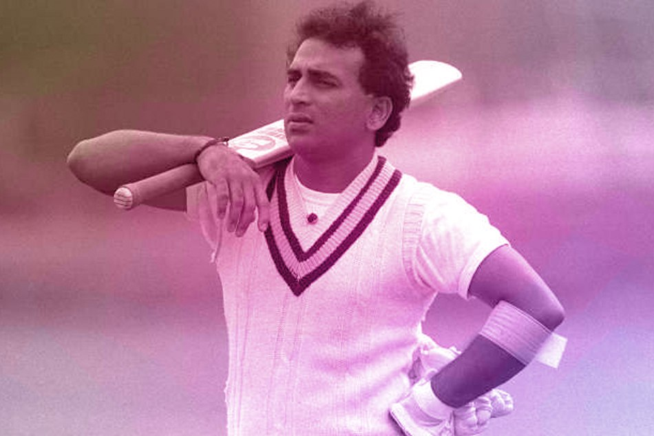Why did Sunil Gavaskar play that slow innings in the first match of World Cup cricket?