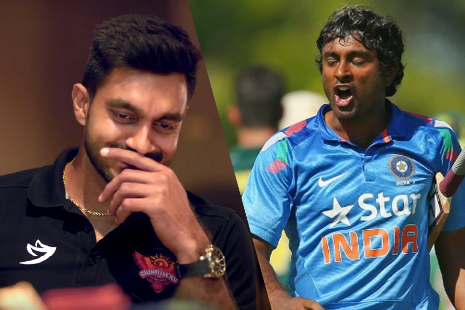 Vijay Shankar Reacted First Time To The 3d Tweet By Ambati Rayudu