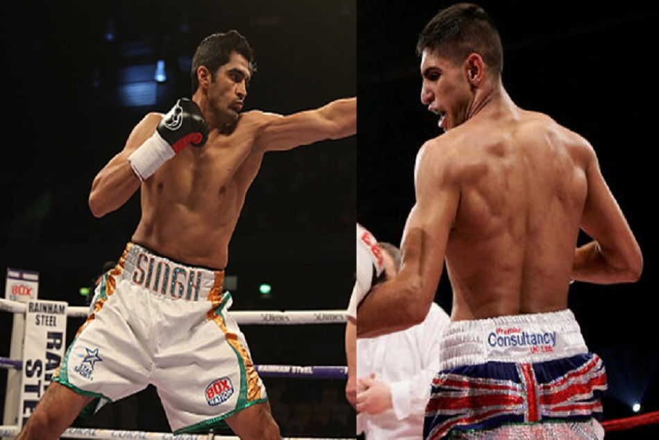 Amir Khan Want A Fight With Boxer Vijender Singh