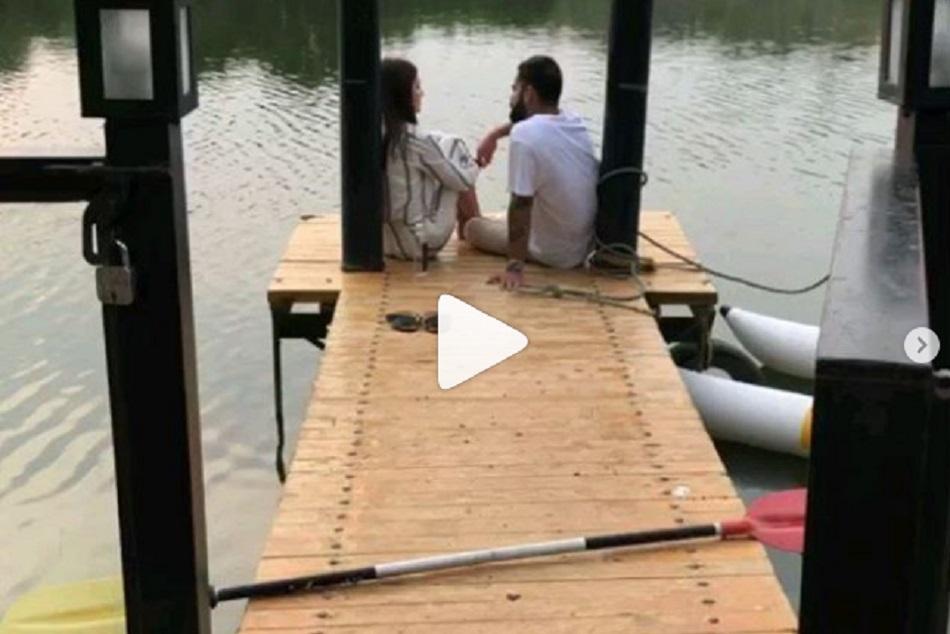 Virat Kohli And Anushka Sharma Romantic Video Viral