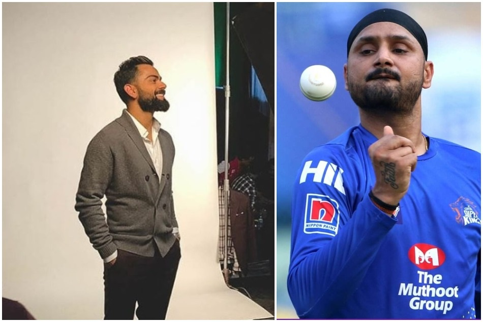 Ipl 2019 Harbhajan Singh Takes A Dig At Virat Kohli S Post Gets Trolled By Later S Fans