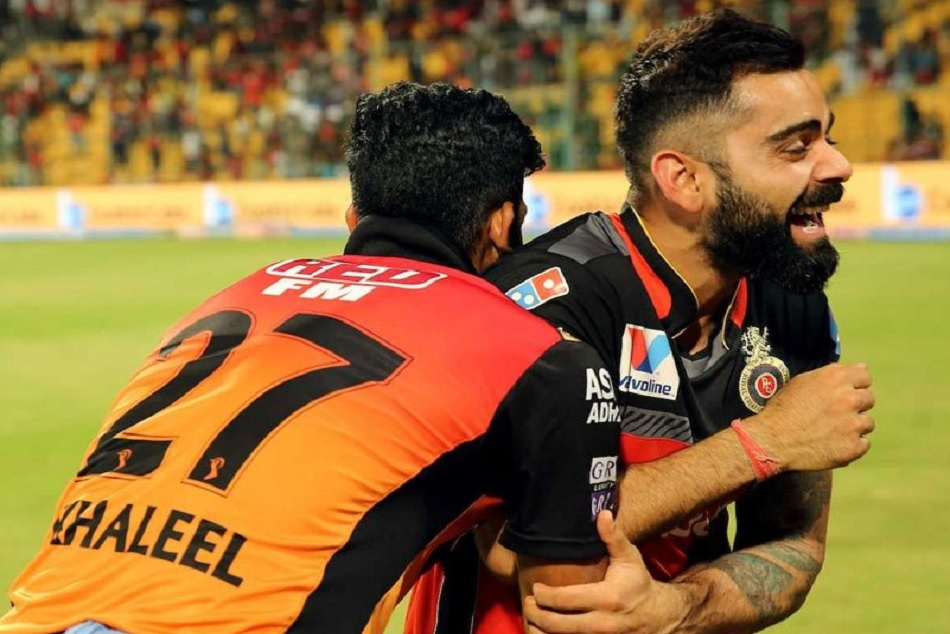 IPL 2019: When Virat Kohli teases Khaleel Ahmed By Impersonating His Wicket Celebration