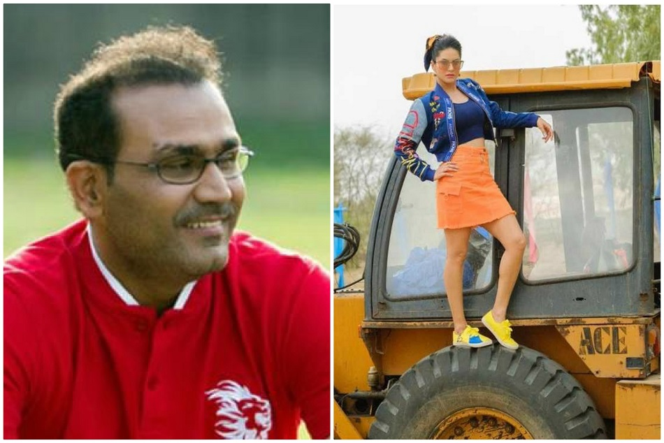 Virender Sehwag Asked On Twitter What Are You Looking At Fans Said Jcb Ki Khudai