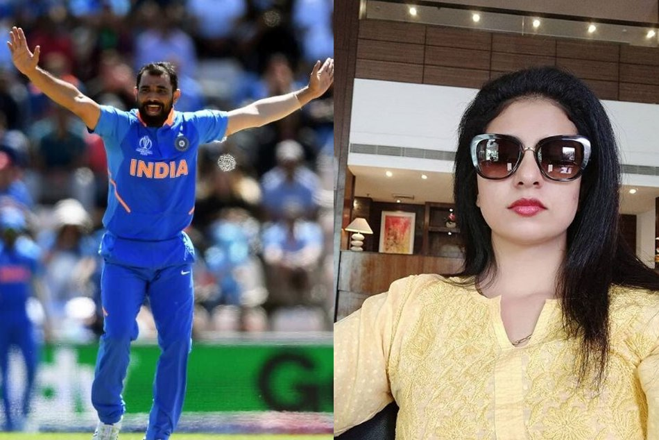 World Cup 2019 Mohammad Shami S Wife Hasin Jahan Reats On His Hat Trick