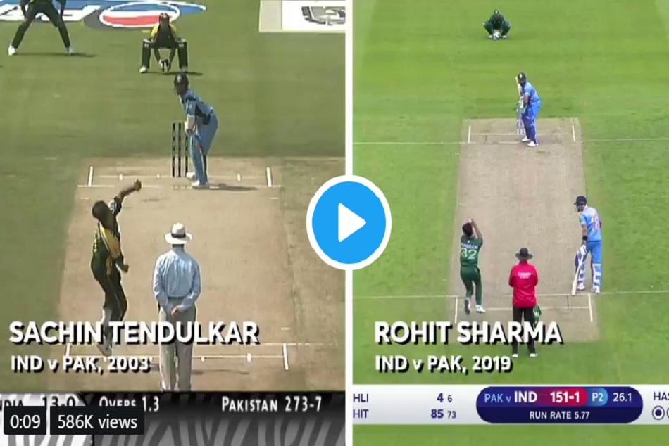 Sachin Tendulakrs 16 year old video gone viral after Indias victory against Pakistan
