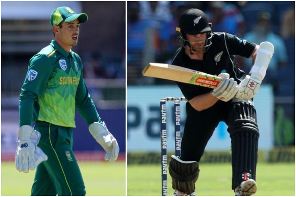 De Kock did same mistake as Dhoni for not going for DRS against Williamson