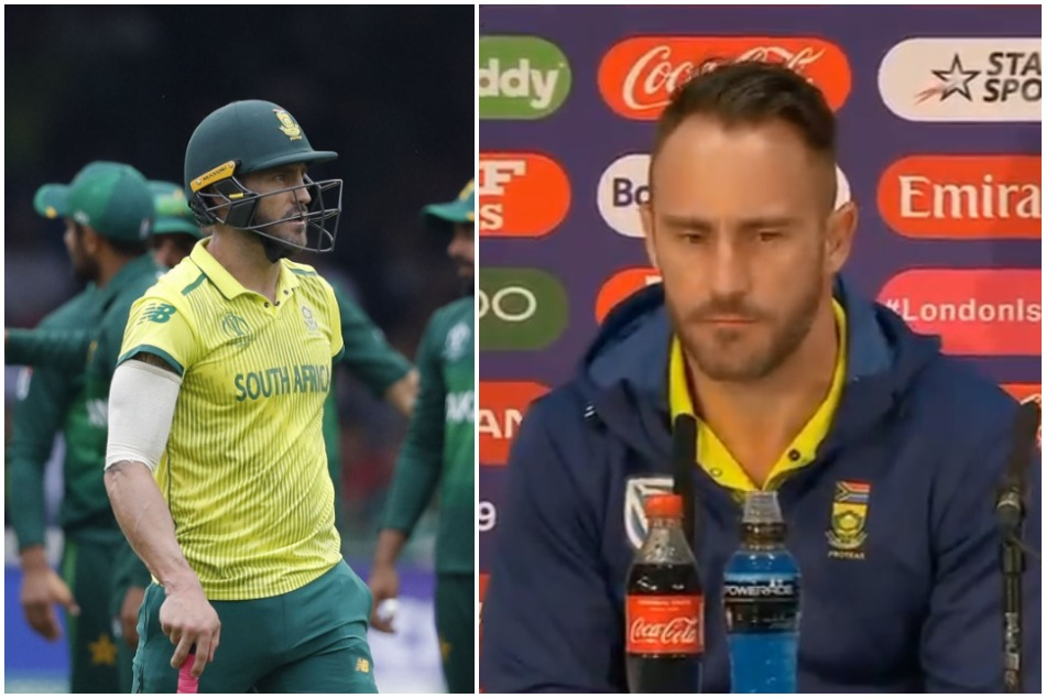 South Africa Out In The Semi S Race Faf Du Plessis Says This Is Lowest Point Of His Career