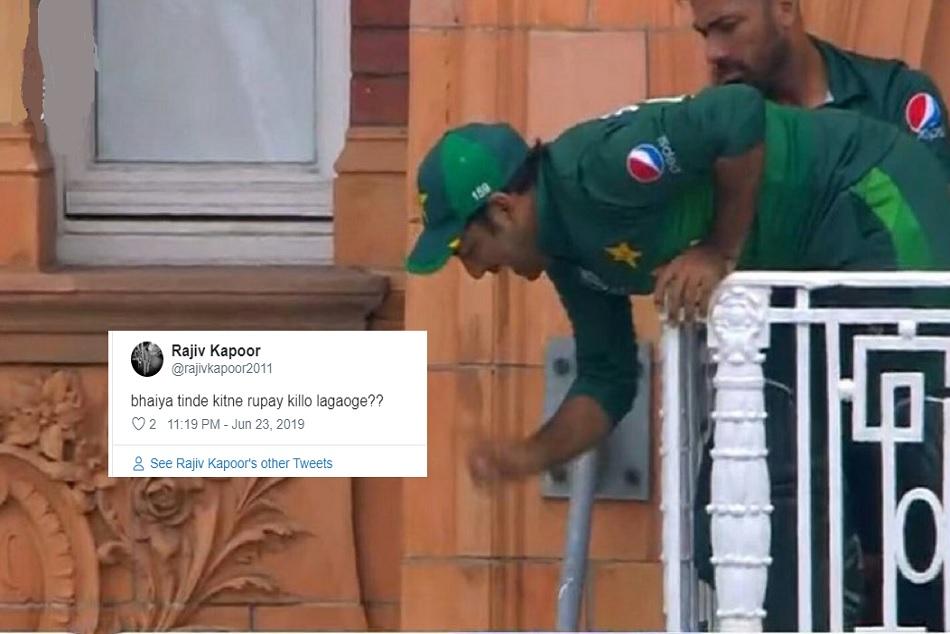 World Cup 2019: Sarfaraz Ahmed's Lord's balcony becomes a popular meme