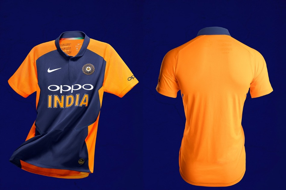 BCCI unveils team indias new away kit ahead of match against England