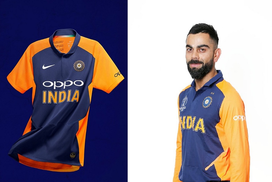 Virat Kohli and other members shows their first look In Indias away jersey