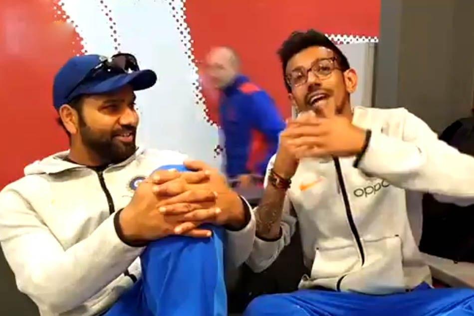 VIDEO:किसके आने से रोहित ने लगाई दो सेंचुरी, चहल ने खोला राज