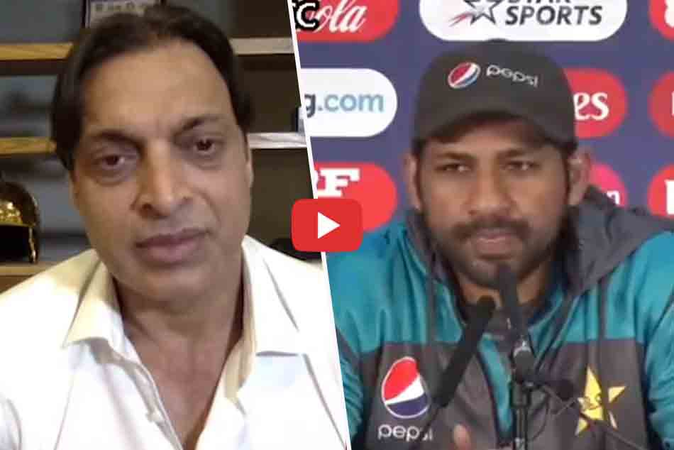 Sarfaraz ahmed reacts on shoaib akhtar barinless captain jibe