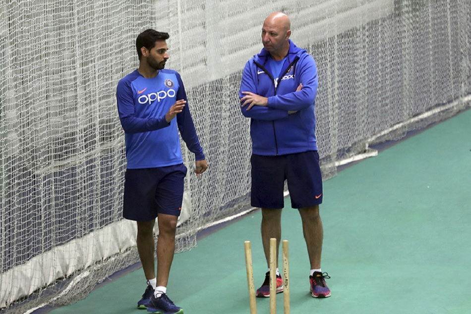 Bhuvneshwar Hits Nets Ahead Of India S World Cup Tie Against The West Indies