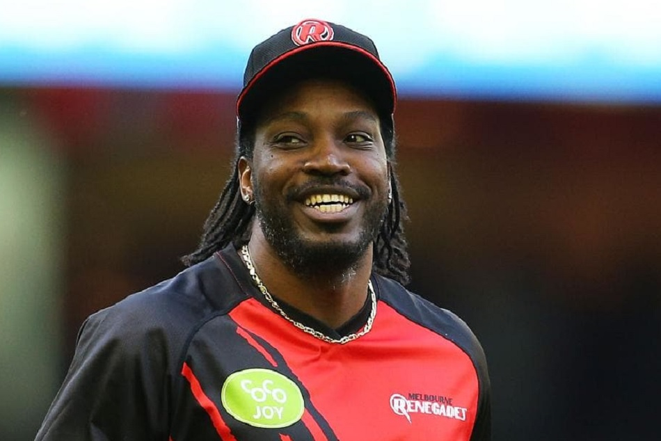 Chirs Gayle Indo Pak Color Style Suits Picture Gone Viral Ahead Of The India Pakistan