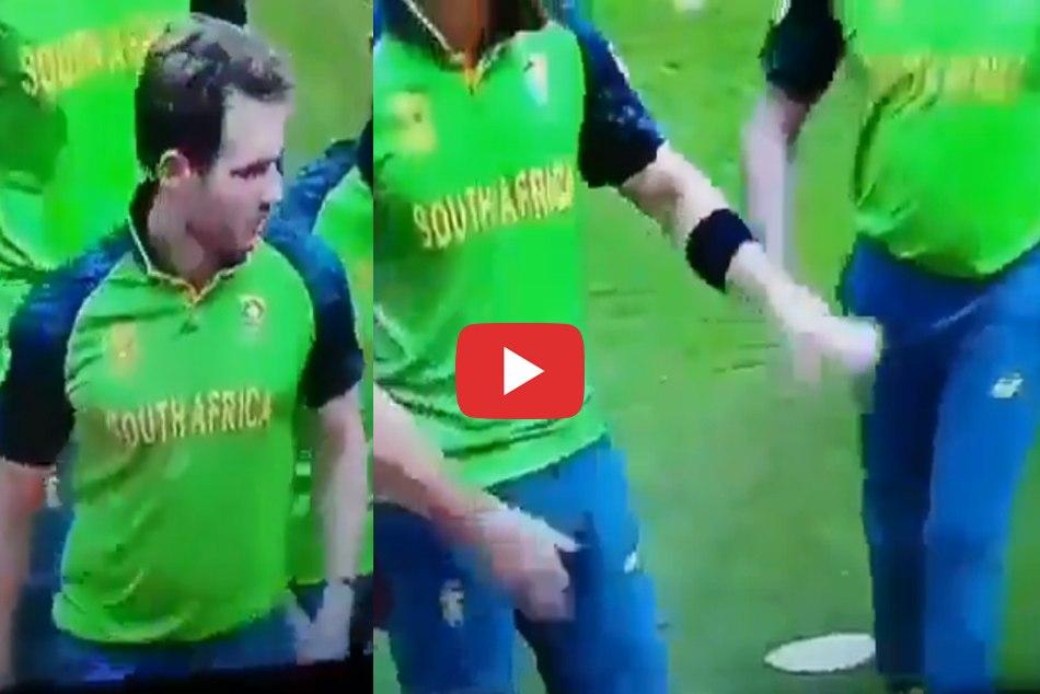 जब डेविड मिलर ने बीच मैदान में कर दी 'गंदी हरकत', VIDEO हुआ वायरल