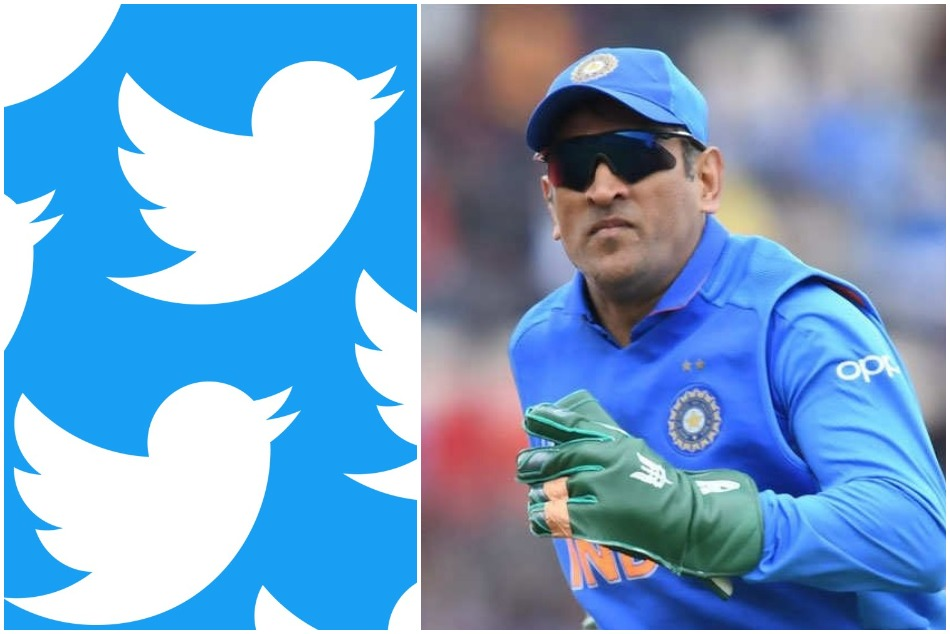 CWC19: #DhoniKeepTheGlove gone viral on twitter in support for MS Dhoni