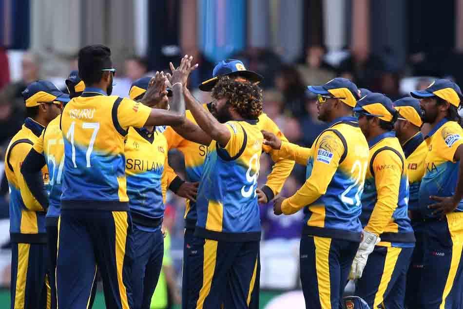 Lasith Malinga with srilanka cricket team