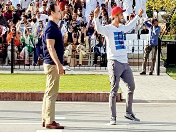 'वाघा बॉर्डर पर मत उछलो हसन अली'