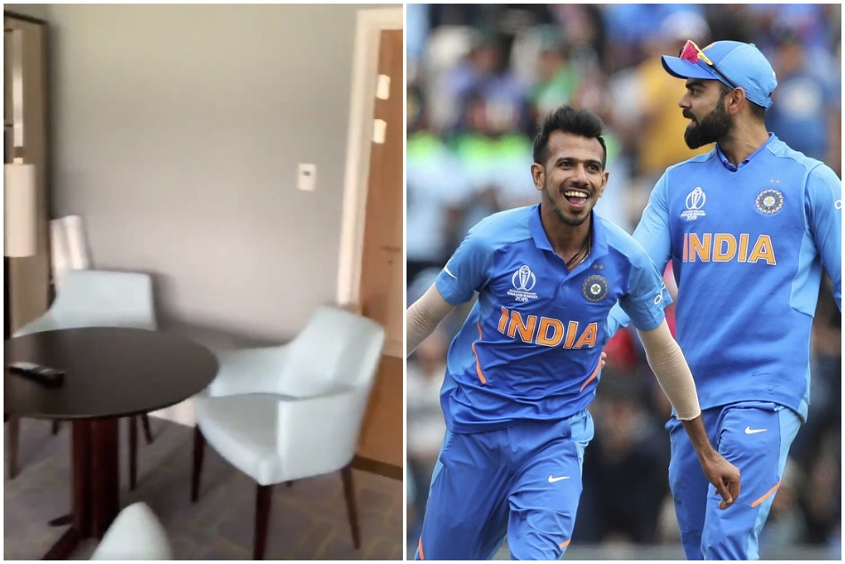 Cwc19 Commentary Of India V South Africa Match Took Place In Hotel Bedroom Video