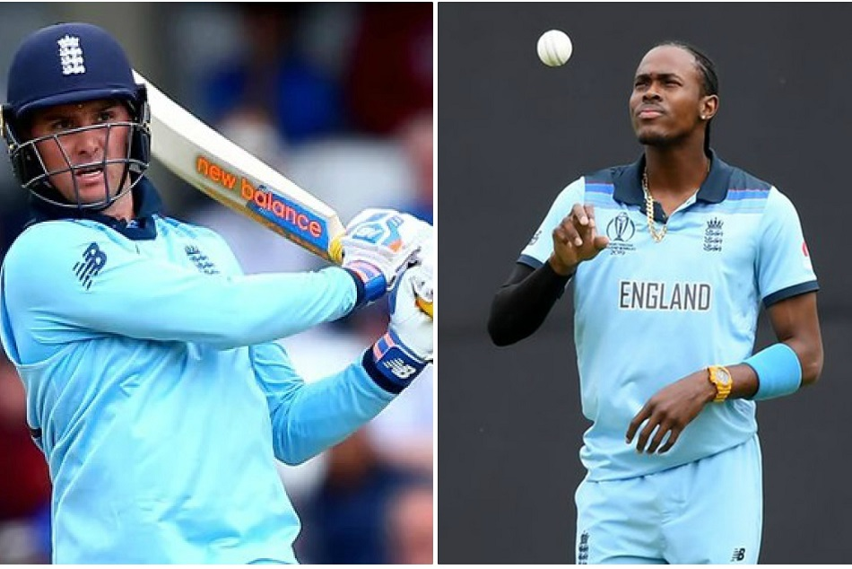 Icc World Cup 2019 Jason Roy And Jofra Archer Fined By Icc
