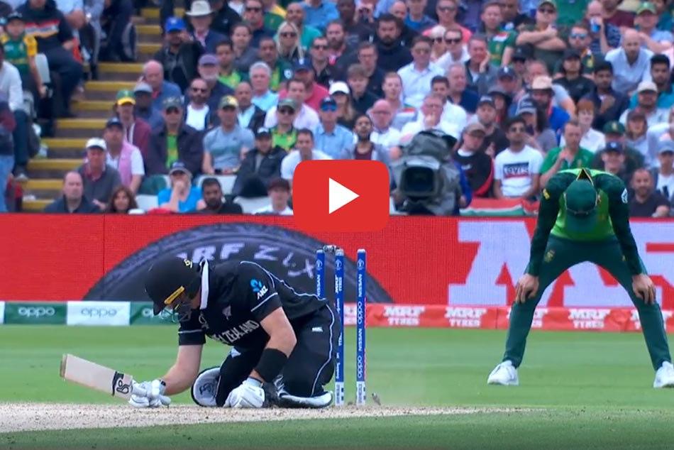 विश्व कप 2019 में पहली बार इस 'अजीबोगरीब' तरीके से आउट हुआ कोई बल्लेबाज, VIDEO वायरल