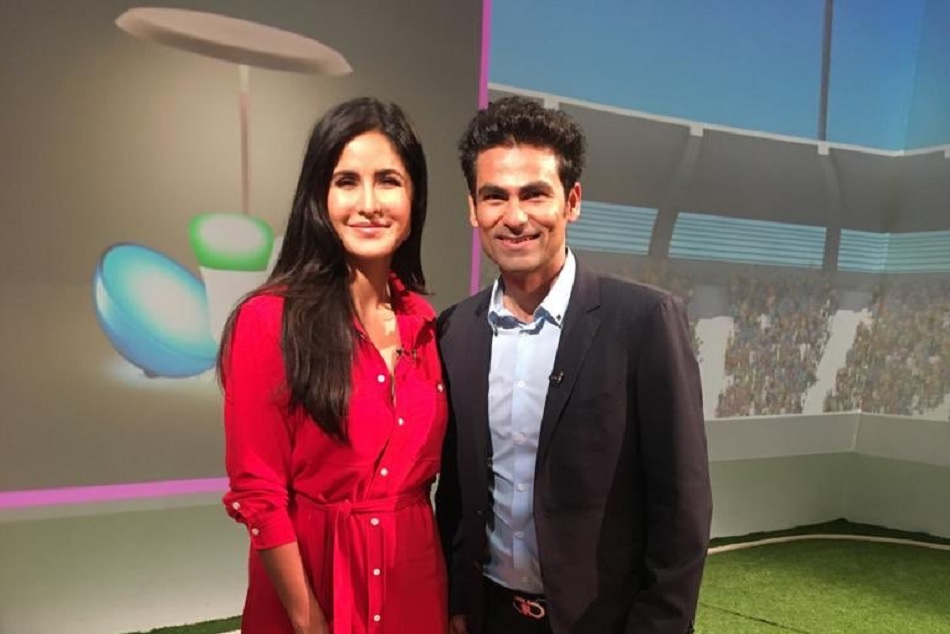 ICC World Cup 2019: Mohammad Kaif meets Katrina Kaif and gets trolled on twitter