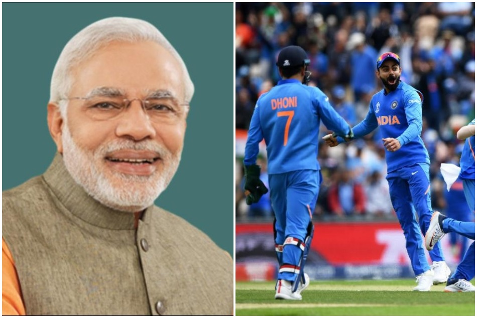 CWC19: PM Modi gives best wishes to the Team India ahead of first match