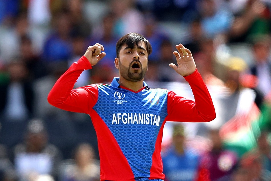 Endvsafg Rashid Khan Becomes The First Spinner To Spent 100 Plus Runs In Odi History