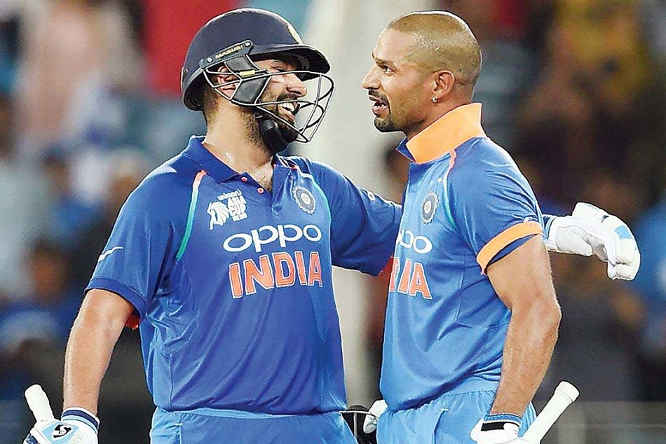 Rohit Sharma And Shikhar Dhawan Performance Against Australia Icc World Cup