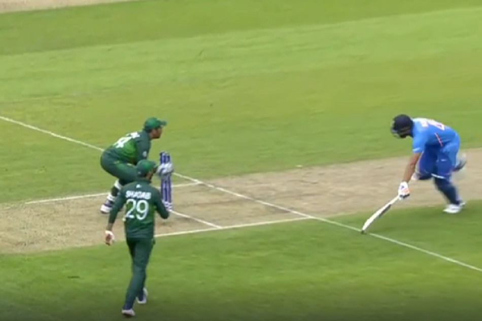 India Vs Pakistan Icc World Cup 2019 Pak Lost 2 Chance To Take Wicket