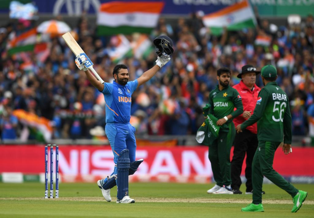 India vs Pakistan: Daddy hundred man Rohit Sharma enacts lead act to perfection