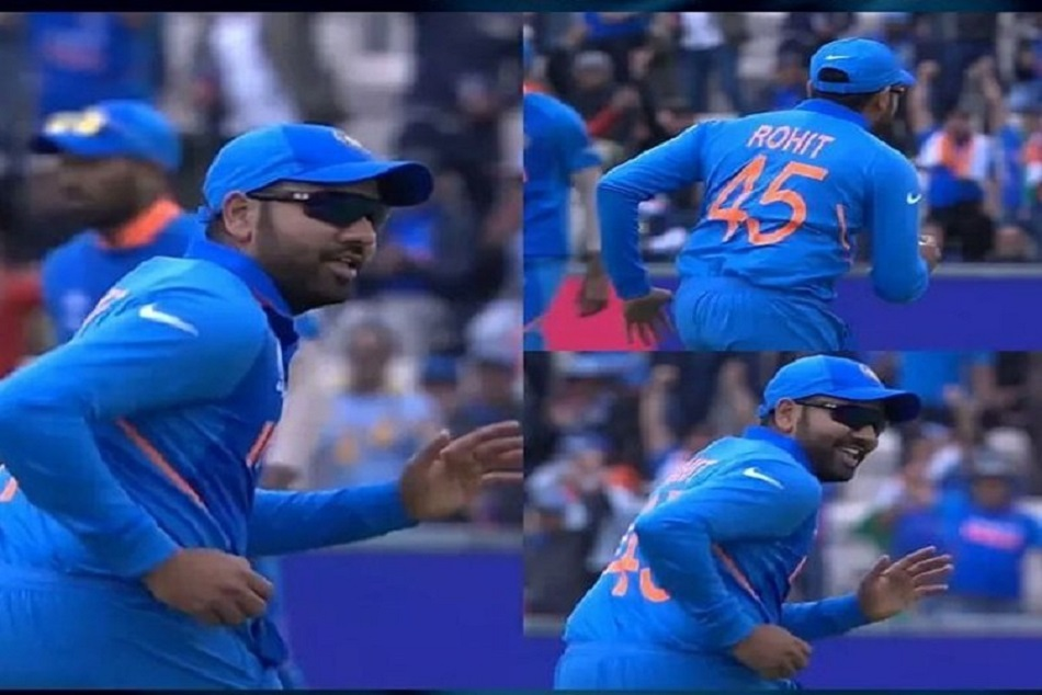 Rohit Sharma Dance After Take Wicket Of Hashim Amla Icc World Cup