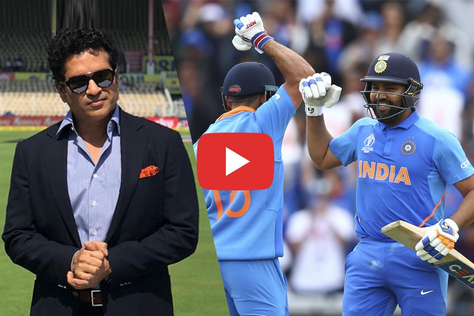 Sachin Tendulkar replies humorously to the the ICC on comparison with Rohit Sharma