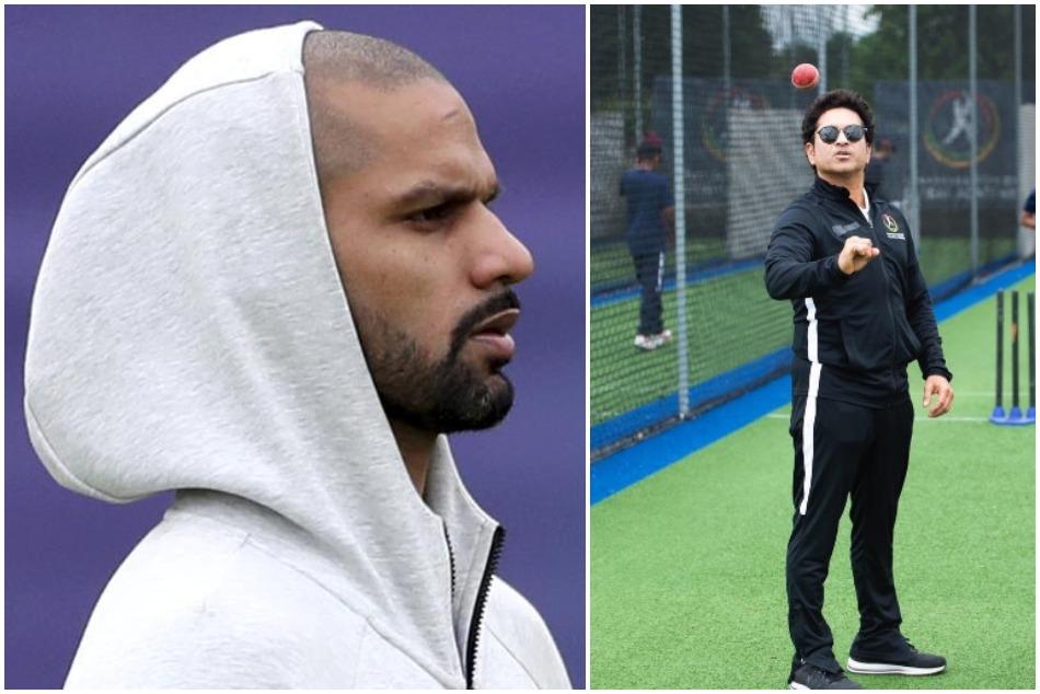 World Cup 2019: Sachin Tendulkars emotional tweet for Shikhar Dhawan goes viral