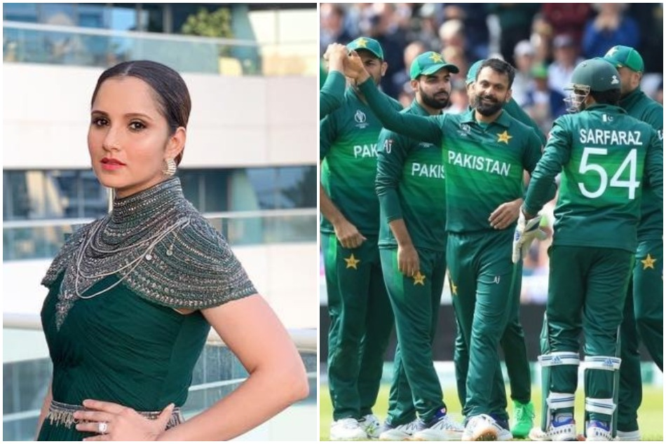 ICC World Cup 2019: Sania Mirza congratulates Pakistan on winning against England
