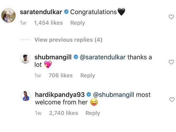 सारा ने दी बधाई को कूदे पांड्या