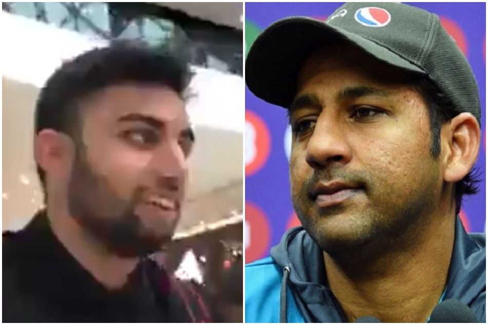 World cup 2019: Pakistani fan abused Sarfaraz Ahmed on his body, Watch Video