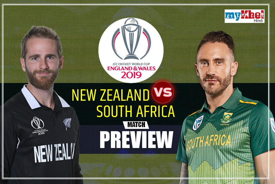 ICC World Cup 2019: New Zealand vs South Africa, Match 25th Preview