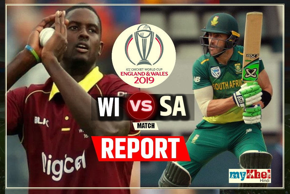 CWC19, SAvsWIN: Another match was abandoned due to rain, Teams shared equal points