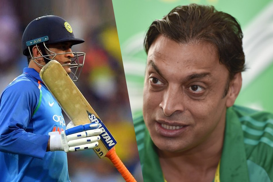 Shoaib Akhtar Attack On Ms Dhoni Slow Batting Against Afghanistan Icc World Cup